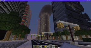 Downtown Minecraft by Mamamia64
