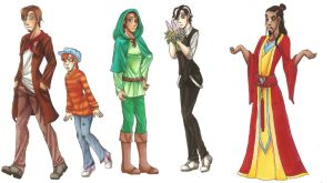Humanized Disney Animals Male 2 by CarmenFoolHeart