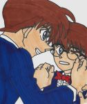 Conan and Shinichi by YamiCecile