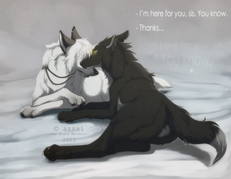 i'm here for you by azzai