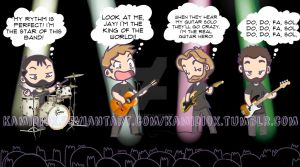 What a band think... by KamiDiox
