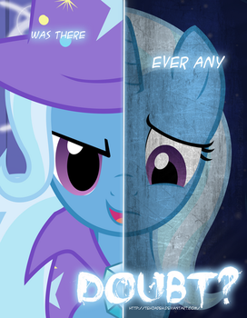 MLP - Two Sides of Trixie by TehJadeh