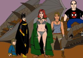 Gail Simone stuff from her Twitter by LittleSpook75