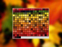 Autumn Color Swatch 1 for Photoshop by kausa