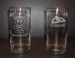 deviantART glassware version 2 by dizzyflower28