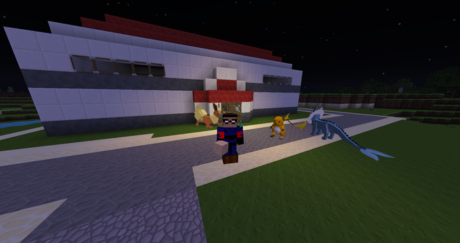Pixelmon Kanto Region Remake Off for the Night by The-Macattack