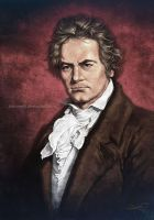 Beethoven's Portrait by aaronwty