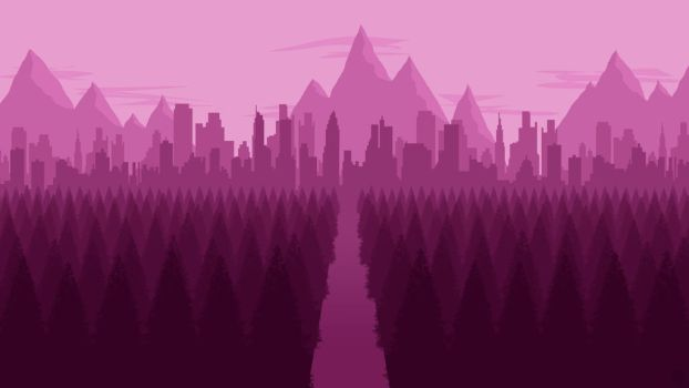 Landscape [9] - City Forest by ncoll36