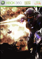 Halo Reach Game Cover by Quarion-Design