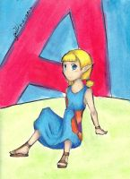 A is for Aryll by StarlightShymmer