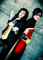 Anime Expo 2013 - Young Justice by Foxotashes