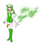 Point Comission - Mew Green Apple by Eleanor-Devil