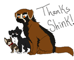 Thanks Shinkoryu14 by BanditKat