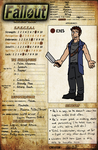 Reference Sheet: Ian by SevBD