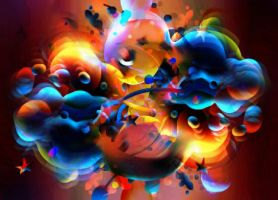 Epic Poodle by artistaHerby