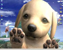 Nintendog Attack by rioka