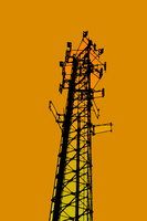 Cell Tower - Alternate Album Art by wetdryvac