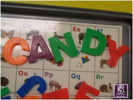 CANDY - letters by deftones