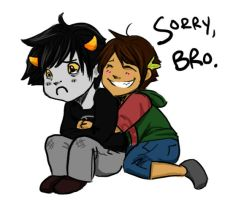 SORRY, BRO by clorinspats