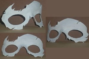 Halloween Mask Skull by Ember-lacewing
