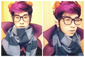 Eridan Ampora Cosplay by kingkimochi