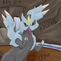 Kyurem 30 day challenge by HoneyShuckle
