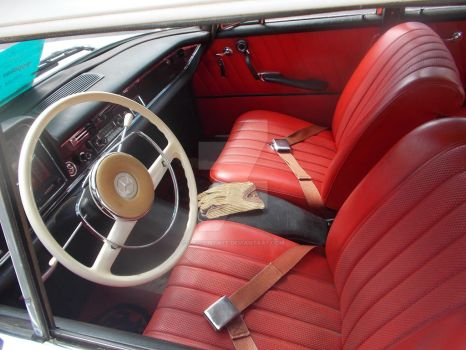 1960s Mercedes Interior by David3State