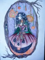 Pumpkin Queen better quality by xitsveronikiox