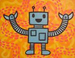 Disco Dancing Ditch Digger by popartmonkey