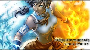 Avatar Korra by alliwanttedwasyou