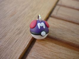 Master Ball Charm by PhantomxFan