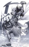 Fantasy Wonder Woman by ChristopherStevens