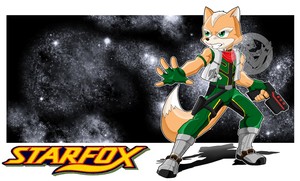 Fox McCloud by slimthrowed