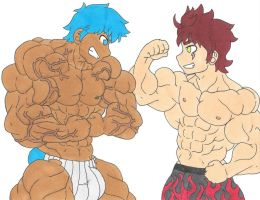 Request 07: Musclevirus by ryugaxryoga