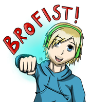 Brofist for all the bros! by DrawingSpyro