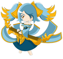 LoL Sona by Kuroga