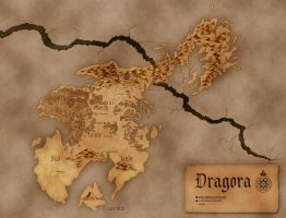 Map of Nolkor: Dragora by Luned
