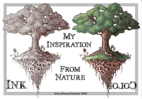 Inspiration Drawn From Nature by Ink-Hound
