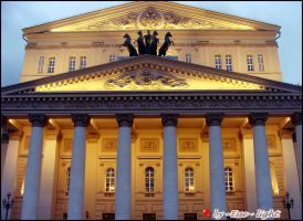 The Bolshoi Theater by Esse-light