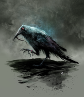Silky the Crow by GAVade