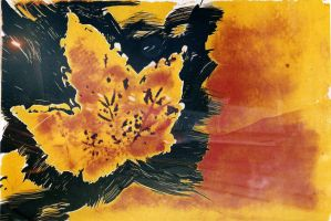 autumn monotype. by triscuitbox
