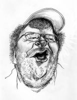 Michael Moore by LFalco