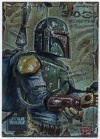 Star Wars Galaxy 6 Boba Fett by DavidRabbitte