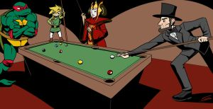 Billiards [Seamergency] by FicusArt