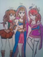 Around the world outfits :3 by BebeKimichi