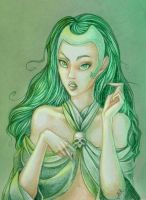 Polaris, Lorna Dane by FoxSagebrush
