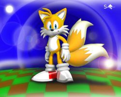 Tails 3D by Sigacomer