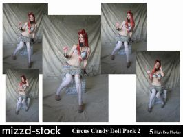 Circus Candy Doll Pack 2 by mizzd-stock