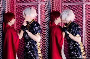 Shinjuro, kiss me by HaruMidnightCosplay