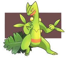 Sceptile by Raynart7